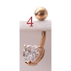 RG606 [Vidutinio dydžio,aukso padengimo, su žydra akimi]