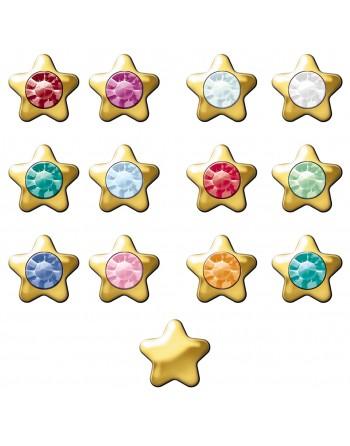 Žvaigždutė, aukso padengimo